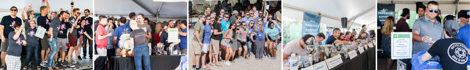 Employee Team Engagement for Nonprofit Craft Beer Event